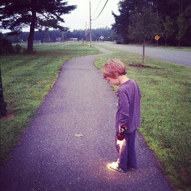 5:30am walk.