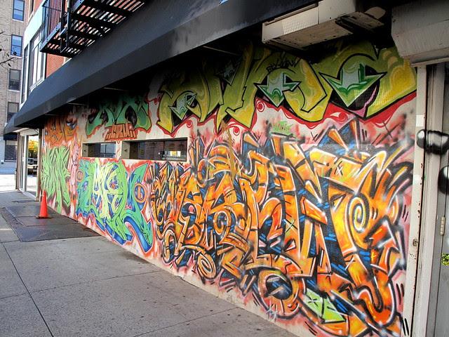 Momofuku Ssam Bar wall