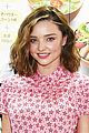 miranda kerr dons an apron and star printed dress in tokyo 03