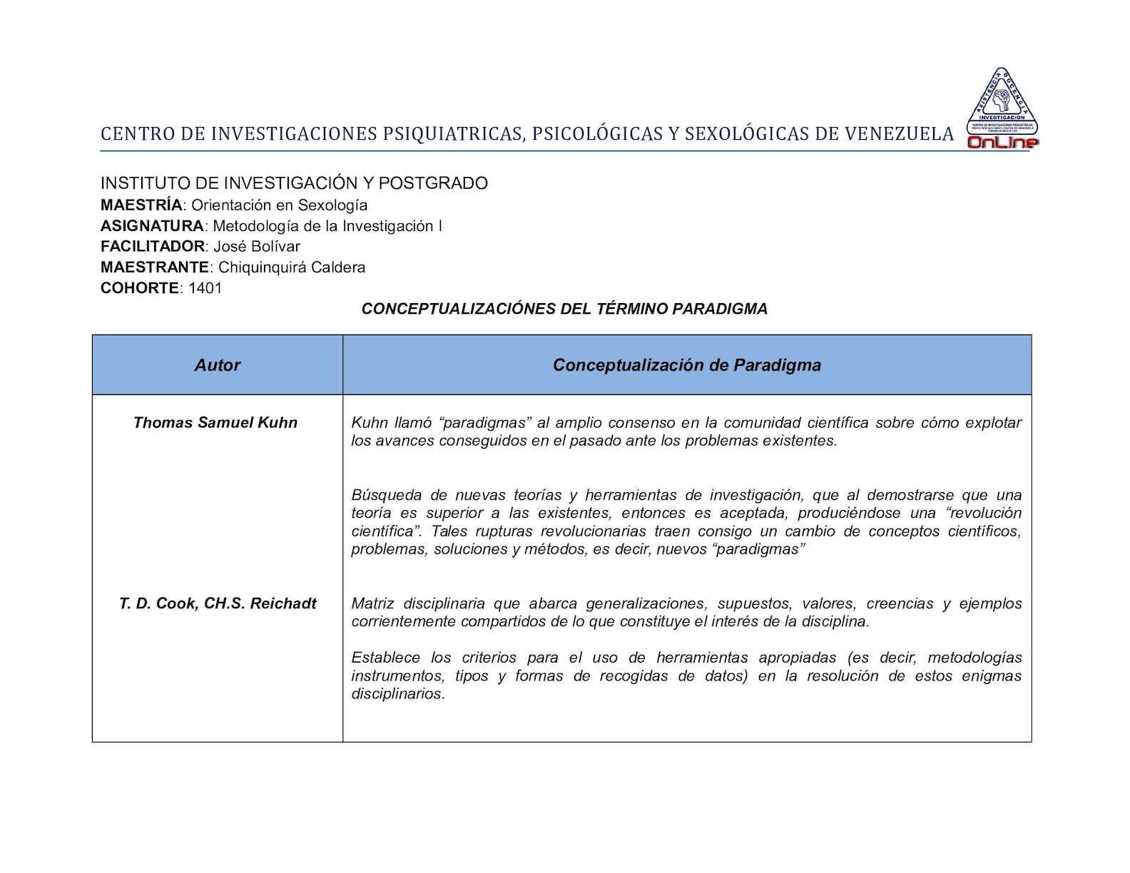 Calameo Tarea Cuadro Comparativo Paradigmas De Investigacion