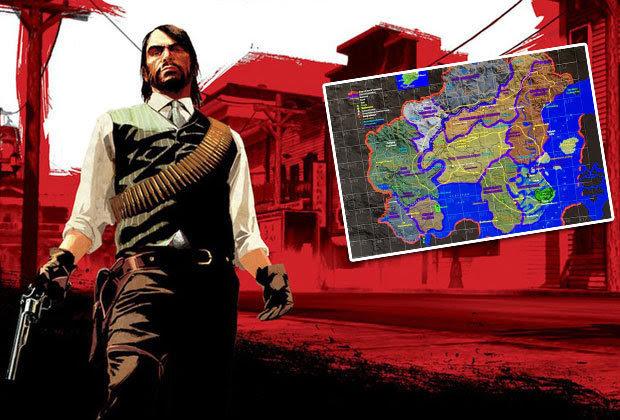 Red Dead Redemption 2 Map Leak Points Towards Mafia 3