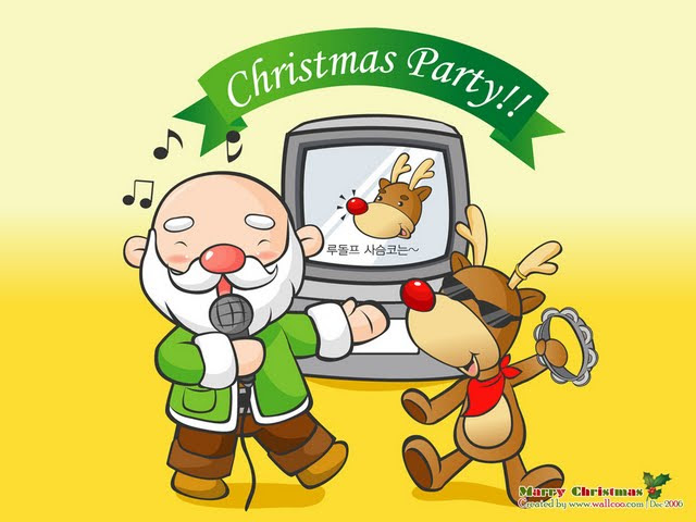 Funny Christmas Cartoon 29 Desktop Wallpaper Wallpaper