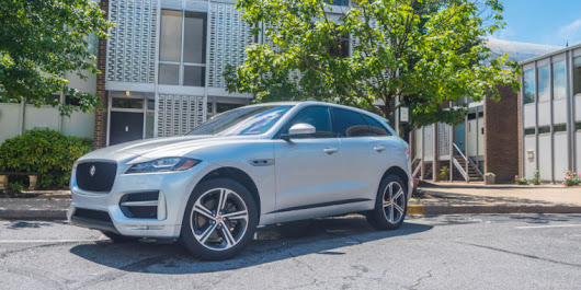 The 2017 Jaguar F-Pace marries sport and utility