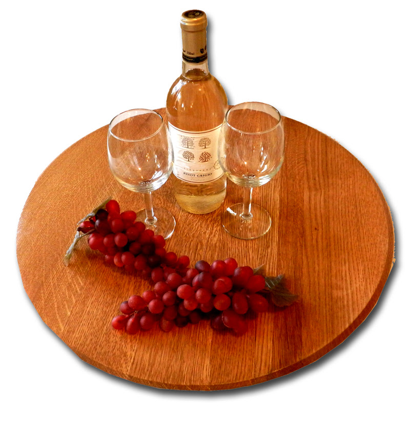 Oak Barrel Head Lazy Susan Giveaway All Gifts Considered