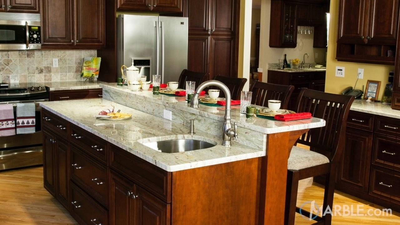Top 5 Kitchen Countertop Choices for Dark Cabinets ...