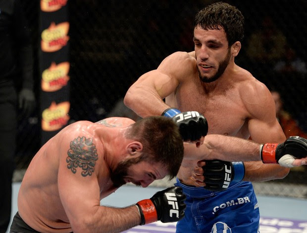 MMA - UFC Fight Night - Elias Silverio x Isaac Vallie-Flagg (Foto: Getty Images)