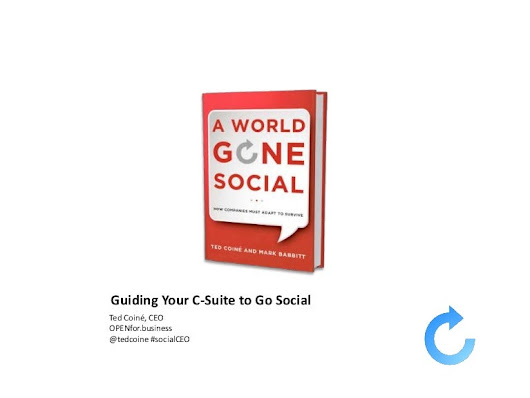 Guiding Your CEO and C-suite to Go Social