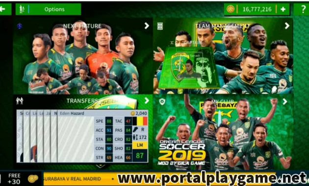 Download Dream League Soccer 2019 Mod Apk Persebaya - Free Download Dream League Soccer 2019 APK for Android / Dream league soccer (mod apk) is a football management game developed and published by first touch games in 2016.