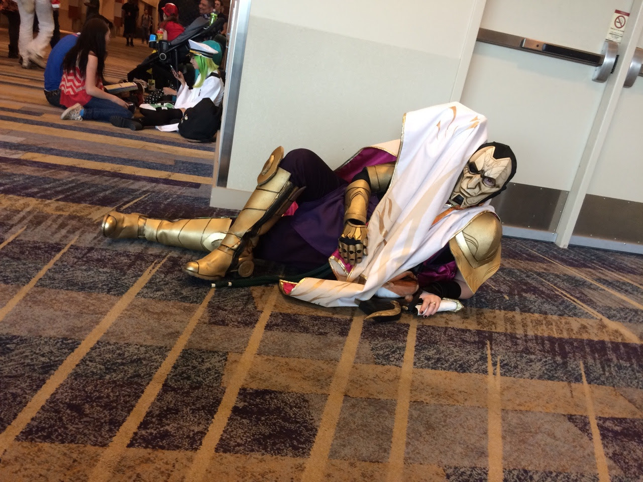 Cosplay Just My Jhin Cosplay Nothing Amazing