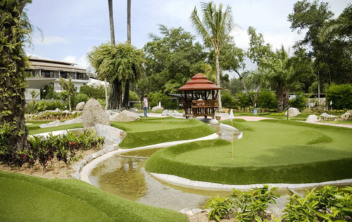"""Adventure Mini Golf"" Bang Tao Beach Phuket"