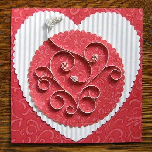 valentine u0026 39 s day quilled card tutorial