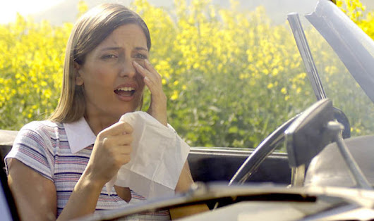 Hay fever symptoms - How to reduce affects while driving using THIS simple trick