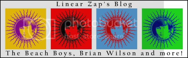 Linear Zap's Blog - The Beach Boys, Brian Wilson, and more!