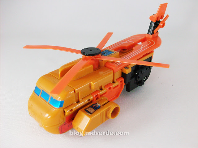 Transformers Sandstorm G1 - modo helicóptero