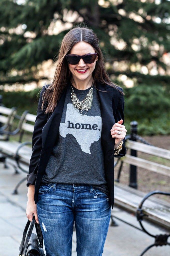Shirt - The Home T (thehomet.com Necklace - sorrelli.com
