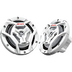 "JVC CS-DR6201MW 2-way Marine Speakers - Pair - 6.5"" - White"