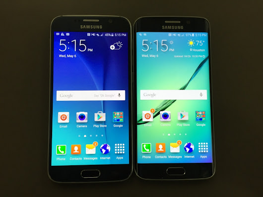 Tale of 2 phones: Samsung's Galaxy S6 and Galaxy S6 Edge