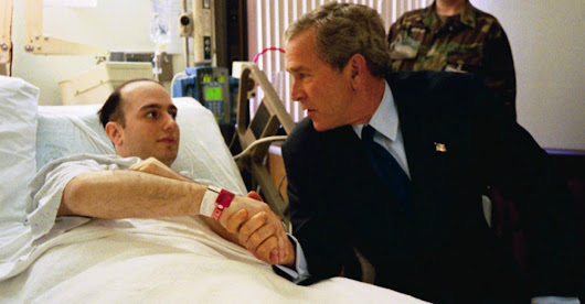Why George W. Bush Let a Soldier's Mom Yell at Him