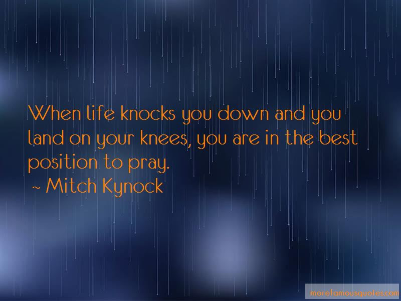When Life Knocks You Down Pray Quotes Top 1 Quotes About When Life