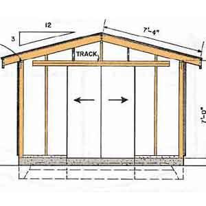 Premade Storage Sheds Diy Free Shed Plans 12x16