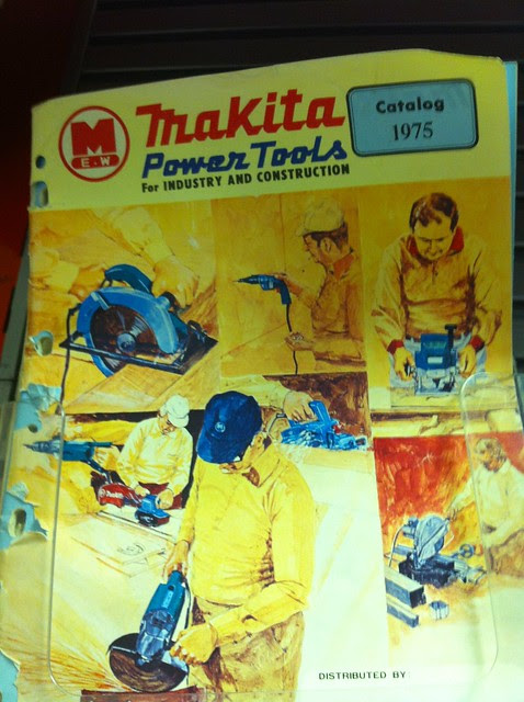 Vintage Makita Power Tools