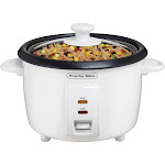 Proctor Silex White 8 Cup Rice Cooker 37534NR