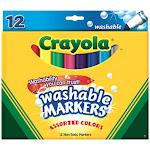 Crayola 58-7812 Crayola Broad Line Washable Markers
