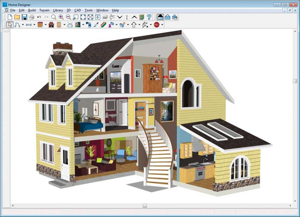 3D Home Design 1024x741