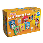Kellogg's Cereal, Variety Pack, 30-count