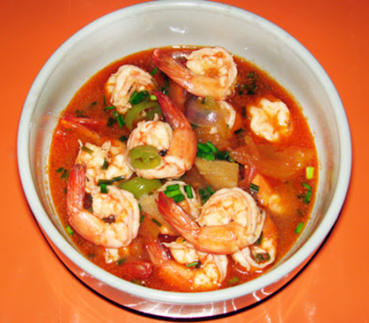 Shrimp in Spicy Tomato Sauce | Jean's Filipino Recipes
