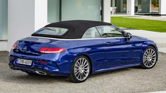 The new Mercedes C-Class Cabriolet