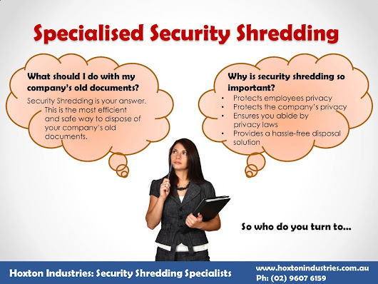 Packaging Solutions — Effect of specialized Security Shredding It...
