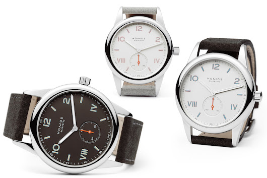 New Nomos Club Campus Watches Aim For A Young Crowd | aBlogtoWatch