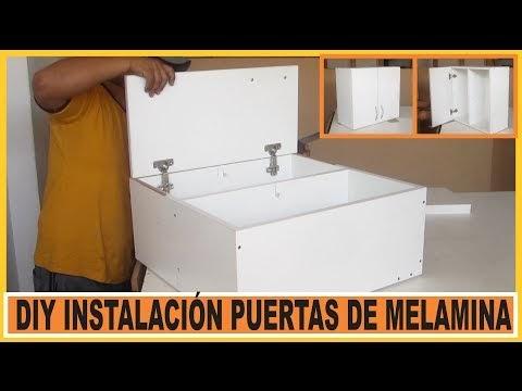 V deo bricolaje como poner puertas muebles de cocina for Poner muebles de cocina