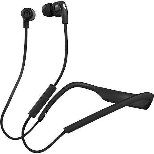 Skullcandy Smokin' Buds 2 Bluetooth Wireless Earbuds - Black/Chrome