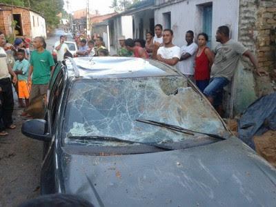 Uma pessoa está em estado grave após o acidente (Foto: Ubatã Notícias)