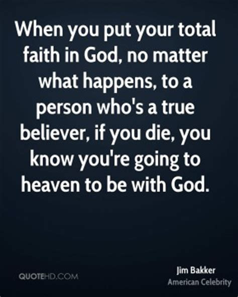 Putting Faith In God Quotes