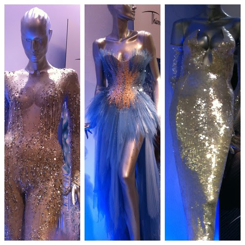 Thierry Mugler's Angel gowns by Ayala Moriel
