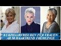 Kurzhaarfrisuren 2018 Frauen Ab 50 Für Feines Haar