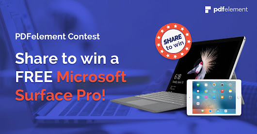 Vote & share your options to win a FREE Microsoft Surface Pro or iPad mini!