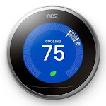 Nest Thermostat: 3rd Generation 'Learning' Thermostat - Stainless Steel, 1 Pack