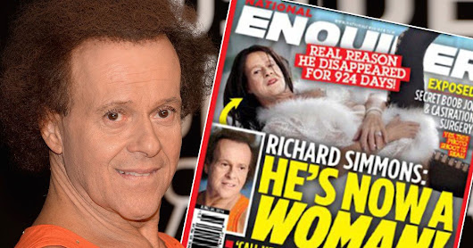 Richard Simmons is 'living as a woman'