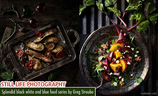 Splendid food series still life photography by Greg Stroube