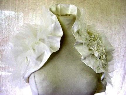 French Vanilla Bridal Wrap