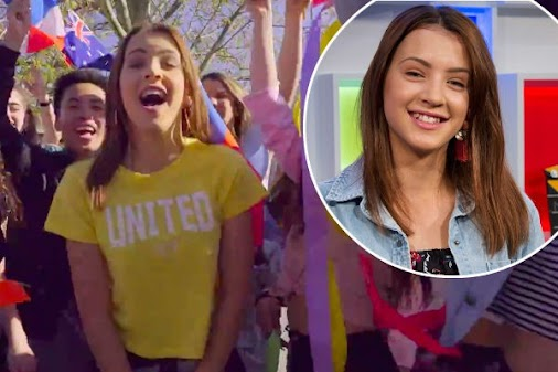 Australia at Junior Eurovision 2017 - Isabella Clarke with