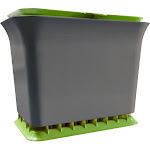 Full Circle - Fresh Air Kitchen Compost Collector Green Slate