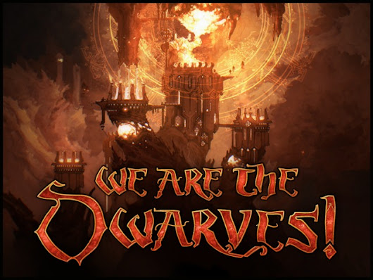 We Are the Dwarves! – engaging real-time tactics PC-Mac game