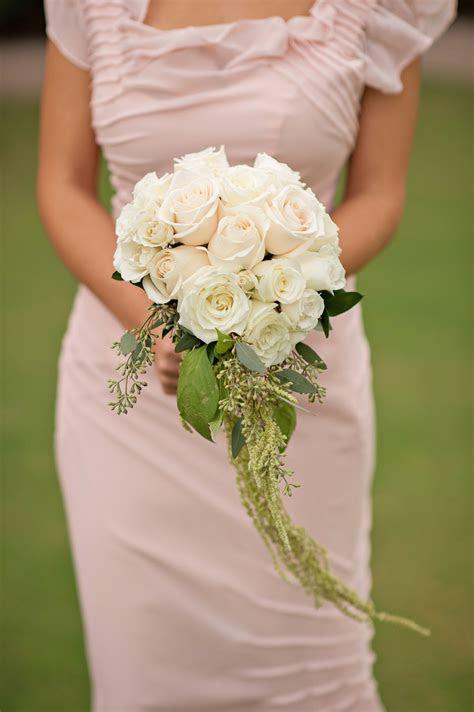 Bouquets Photos   Light Blush & Ivory Rose Bouquet
