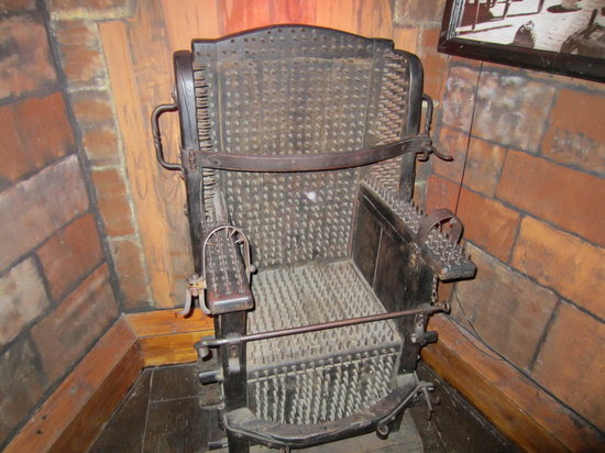 Museum of Medieval Torture Instruments: The Comfy Chair