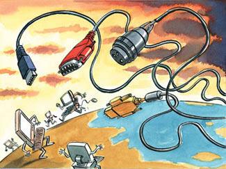 Illustration by Peter Schrank